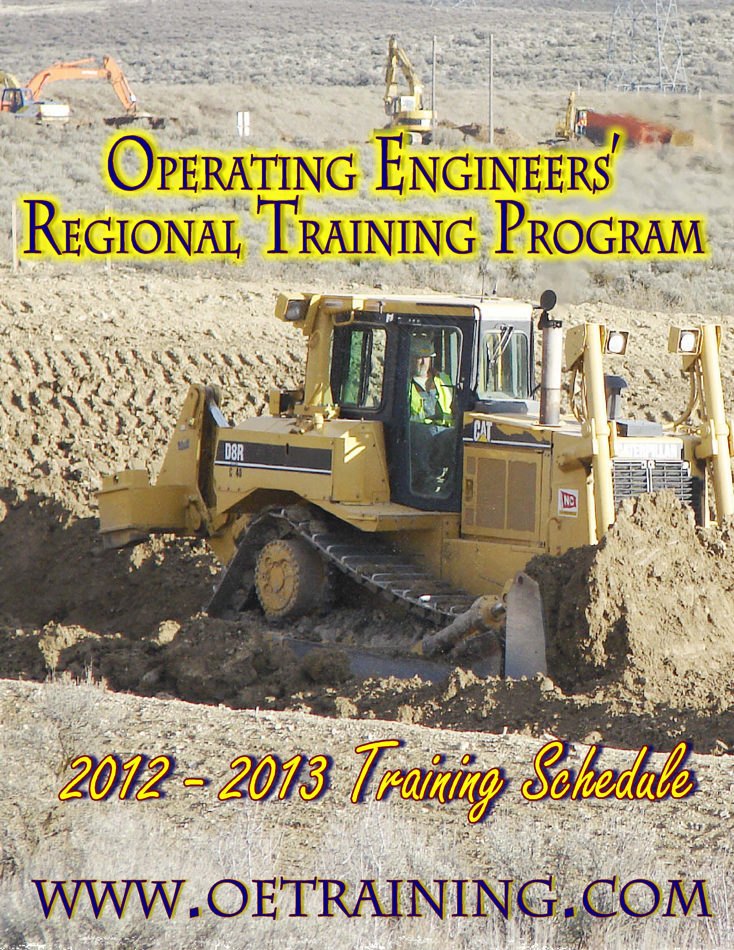 2012 - 2013 Training Schedule